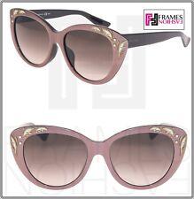c77e722a066 GUCCI GG3828 F S Purple Mink Black Mother Of Pearl Cat Eye Sunglasses 3828