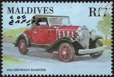 1932 CHEVROLET Roadster (Chevy) Mint Automobile Car Stamp (2000 Maldives)