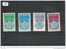 112014/1289 - ZIMBABWE 1980 - YT N° 17/20 ** (MNH) LUXE