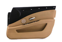 BMW 5 Series E60 E61 LCI Front Right O/S Door Card Trim Panel Beige Cloth