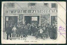 Lucca Città Caffè Juon cartolina EE6350
