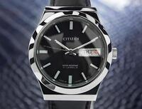 Citizen 21 Jewels Vintage Day Date Automatic Made In Japan Mens Watch c1970 Jr38