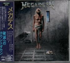 "MEGADETH ""Countdown to Extinction"" Pressage Japan 1992 +2 Bonus Track TOCP-7164"