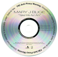 Mary J Blige TAKE ME AS I AM (Promo Maxi CD Single) (2006) RARE