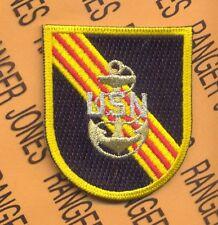 US Naval Advisors Vietnam SEAL UDT Airborne w/ dui crest beret flash patch
