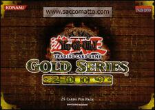 YUGIOH TCG BOOSTER • GOLD Series 2009 Serie ORO 2 • NEW SEALED MINI BOX