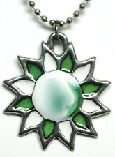 Sherbet Sun pendant (green)