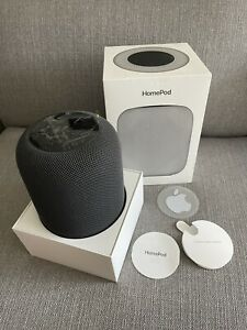 Apple HomePod Speaker - Space Grey - Excellent Condition