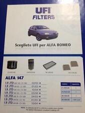 KIT TAGLIANDO 4 FILTRI ALFA ROMEO 156 1.9 JTD 4 LT OLIO SELENIA WR 5W40