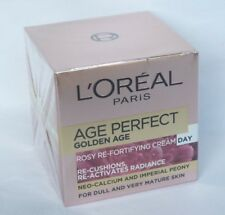 SEALED BOX  L'Oreal AGE PERFECT GOLDEN AGE DAY ROSY RE-FORTIFYING CREAM  50ml