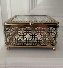 Cynthia Rowley Square Mirrored Jewelry Box