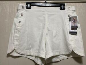 Sofia Jeans Sofia Vergara Julieta White High Rise Short Pull On SIZE 12 NWT