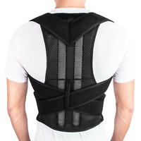 Men Women Magnetic Back Posture Corrector Shoulder Support Brace Belt Therapy