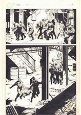 Fatale #2 p.5 - Broadway Comics - Abandoned Subway Splash 1996 art by J.G. Jones