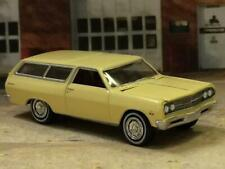 1965 65 Chevrolet Chevelle V-8 Sport Wagon 1/64 Scale Limited Edition XX18