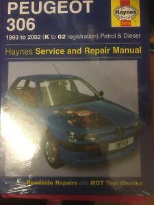Peugeot 306 1993-2002 Petrol And Diesel Haynes Workshop Manual 3073