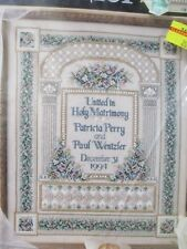 Teresa Wentzler Beaded Wedding Sampler Picture Kit 113827 Leisure Arts