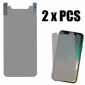 2 x PIECES of Clear Thin LCD Screen Protector Film Guard for iPhone X /iPhone XS