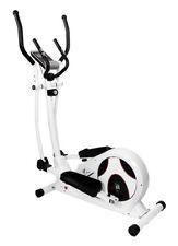 Fitness Crosstrainer CS 5 Weiß von Christopeit mit großer LCD-Digitalanzeige
