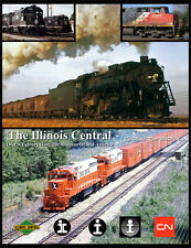 Illinois Central 385 Photos On DVD With Detailed E-Book - 19th Century to CN Era