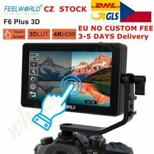 UK FEELWORLD F6 PLUS 5.5 Inch 3D LUT Touch Screen 1920x1080 Camera Field Monitor