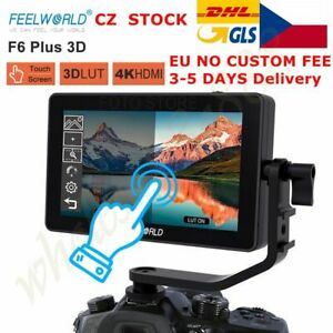 CZ FEELWORLD F6 PLUS 5.5 Inch 3D LUT Touch Screen 1920x1080 Camera Field Monitor