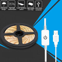 Touch Dimmer Flexible LED Strip Light USB 2835 5V Waterproof Camping Tent Light