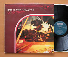 ZK 5 Scarlatti Sonatas Colin Tilney 1976 Argo Stereo NM/VG