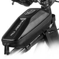 Waterproof EVA Bike Top Tube Bag Bicycle Cycling Front Frame Holder Phone X1Q7