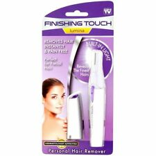 Finishing Touch Lumina Hair Remover Facial Women Epilator Painless Removal Trimm