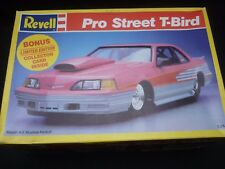Revell  plastic kit of a pro street T Bird,  boxed, but started