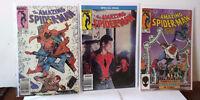 Amazing Spiderman comic lot 260 262 263 264 265 266 Giant Annual 20