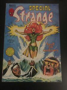 SPECIAL STRANGE #12 JUNE 1978 LUG FRISANO FRENCH X-MEN #101 1ST APP PHOENIX