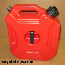 Fuel Can, Gas Can, 5 liters, 1.3 gallons, Motorcycle, ATV, w/ Holder