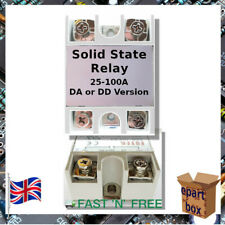 Temperature Control Solid State Relay Modules SSR 10-100A DA / DD 3-32V DC