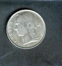 5 FRANCHI BELGIO moneta in circolazione denaro 1972