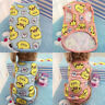 Cotton Dog Pajamas Dog Clothes Chihuahua Yorkie Puppy Clothing for Dog Jumpsuit