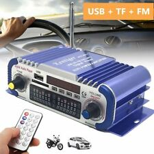 12V HiFi Home Car Stereo Power Amplifier Radio MP3 Speaker FM Audio Music Player