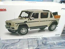 MERCEDES BENZ G650 Landaulet weiss white G-Modell 4x4 SUV Pro R Schuco 1:18