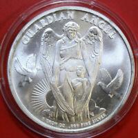 "Niue  Dollars 2017 Silber #F3889 ""Guardian Angel"" ST-BU rare Erstausgabe"
