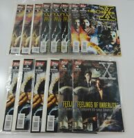 Lot of 14 The X-Files Comics 1995 Edition Special Issues & Annual #1-4 VGC Novel