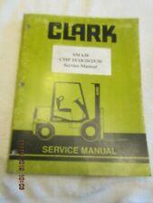 OEM FACTORY CLARK LIFT TRUCK SERVICE REPAIR SHOP MANUAL SM-638 FORKLIFT 1998