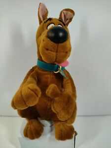 "Vintage Scooby-Doo 1998 Where R-U Bendable Applause Plush Animal 11"" Thumbs UP"
