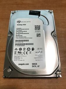 "Lot of 10 Seagate 500GB Hard Drive ST500DM002 1SB10A-022 3.5"" SATA III 7200 RPM"