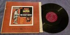 "Mario Lanza Original Soundtrack....""The Great Caruso"" 12"" Vinyl Record LP"