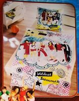 Disney High School Musical Bettwäsche Set 2 teilig 135x200cm 100% Baumwolle