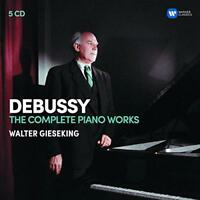 Walter Gieseking - Debussy: The Complete Piano Works (NEW 5CD)
