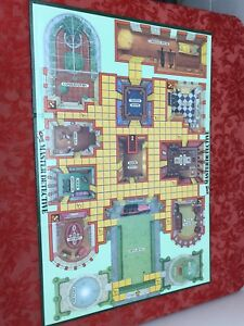 1988 Clue Master Detective REPLACEMENT GAME BOARD ~  GAME BOARD ONLY - NO PARTS