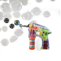 Light Up Flashing Bubble Gun Sensory Toy
