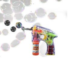 Light Up Flashing Bubble Gun Sensory Toy
